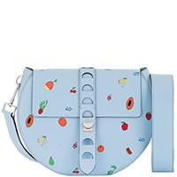 Голубая сумка Coccinelle из гладкой кожи, фото