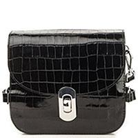 Маленькая сумка Coccinelle Mignon из лаковой кожи, фото