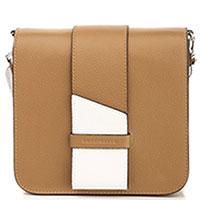 Коричневая сумка Coccinelle Themis прямоугольной формы, фото