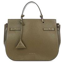 Женская сумка Coccinelle Didi Medium оливкового цвета, фото