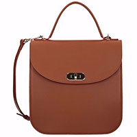Женская сумка Coccinelle Greez коричневого цвета, фото