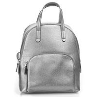 Женский рюкзак Coccinelle серебристого цвета, фото