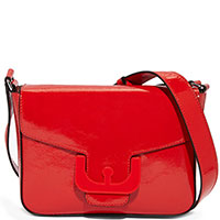 Женская сумка Coccinelle Ambrine Cross красного цвета, фото