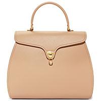 Деловая сумка Coccinelle Marvin бежевого цвета, фото
