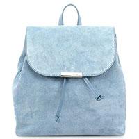 Женский рюкзак Coccinelle голубого цвета, фото