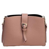 Бежевая сумка Coccinelle из зернистой кожи, фото