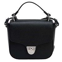 Черная сумка Coccinelle из гладкой кожи, фото