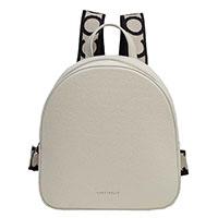 Белый рюкзак Coccinelle с логотипом, фото
