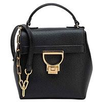 Сумка-портфель Coccinelle черного цвета, фото