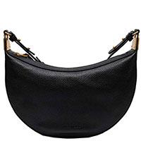 Женская сумка-седло Coccinelle черного цвета, фото