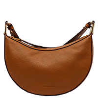 Женская сумка-седло Coccinelle коричневого цвета, фото
