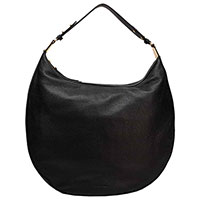 Сумка-седло Coccinelle черного цвета, фото
