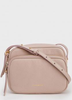 Женская сумка Coccinelle Lea из зернистой бежевой кожи, фото