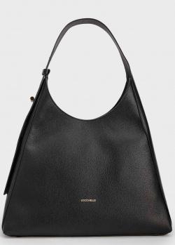 Женская сумка Coccinelle Fedra из черной кожи, фото