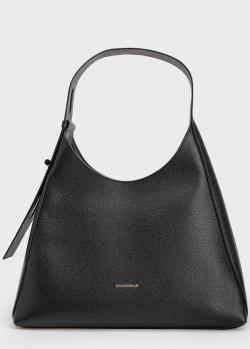 Черная сумка Coccinelle Fedra треугольной формы, фото