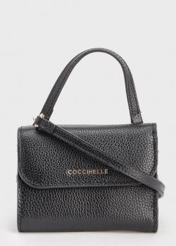 Сумка-кошелек Coccinelle черного цвета, фото