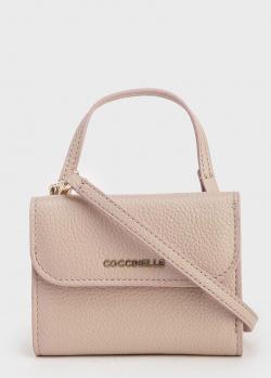 Бежевая сумка-кошелек Coccinelle для женщин, фото