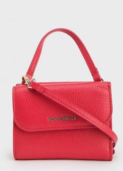Маленькая сумка-кошелек Coccinelle в красном цвете, фото