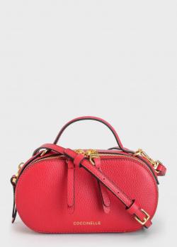 Маленькая сумка Coccinelle из натуральной кожи, фото