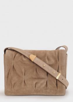 Замшевая сумка Coccinelle Marquise Goodie со сборками, фото
