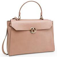 Розовая сумка Davidoff Icon из гладкой кожи, фото