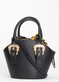 Сумка-тоут Versace Jeans Couture с золотистой фурнитурой, фото