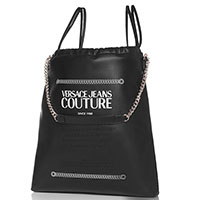 Сумка-шоппер Versace Jeans Couture черного цвета, фото