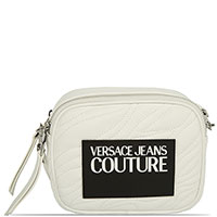 Белая сумка Versace Jeans Couture с логотипом, фото