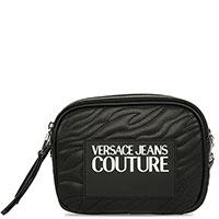 Женская сумка Versace Jeans Couture черного цвета, фото