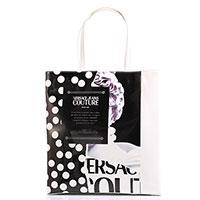 Белая сумка-шоппер Versace Jeans Couture с принтом, фото