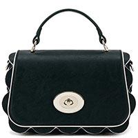 Маленькая сумка Elisabetta Franchi с зубчатыми краями, фото