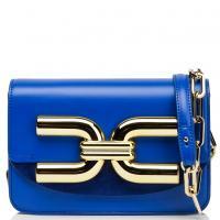 Синяя сумка кросс-боди Elisabetta Franchi, фото