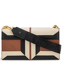 Женская сумка Elisabetta Franchi на широком ремне, фото