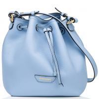 Голубая сумка-мешок Emporio Armani, фото