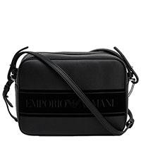 Сумка Emporio Armani черного цвета, фото