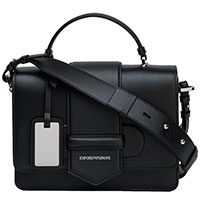 Сумка-портфель Emporio Armani в черном цвете, фото