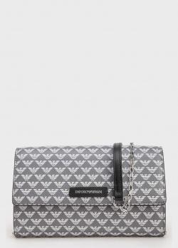 Маленькая сумка Emporio Armani с фирменным принтом, фото