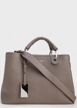 Серая сумка Emporio Armani с кошельком, фото