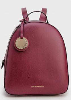 Рюкзак Emporio Armani темно-красного цвета, фото