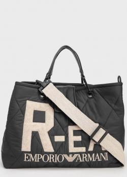 Нейлоновая сумка Emporio Armani из переработанных материалов, фото