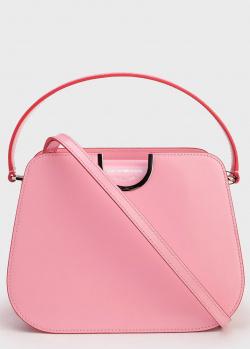 Женская сумка Emporio Armani розового цвета, фото