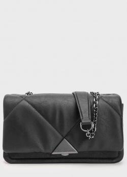 Стеганая сумка кросс-боди Emporio Armani с цепочкой, фото