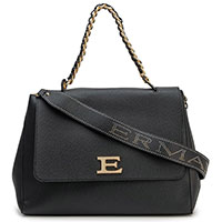 Деловая сумка Ermanno Ermanno Scervino черного цвета, фото