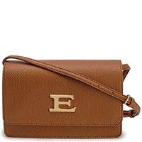 Коричневая сумка Ermanno Ermanno Scervino через плечо, фото