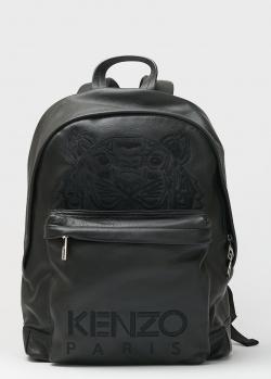 Черный рюкзак Kenzo с вышивкой-тигром, фото