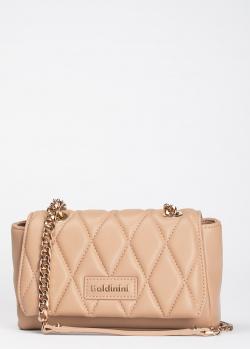 Стеганая сумка-кроссбоди Baldinini Laurie с ремнем-цепочкой, фото