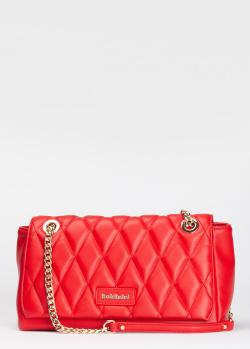 Красная сумка-кроссбоди Baldinini Laurie из стеганой экокожи, фото