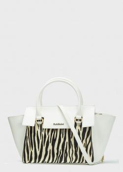 Большая сумка Baldinini Grace белого цвета, фото