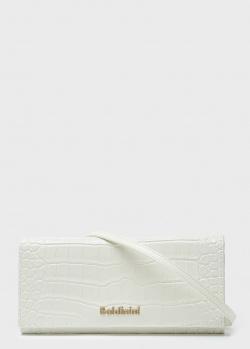 Белый клатч Baldinini со съемным ремнем, фото