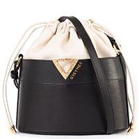 Женская сумка-мешок Greymer из кожи, фото
